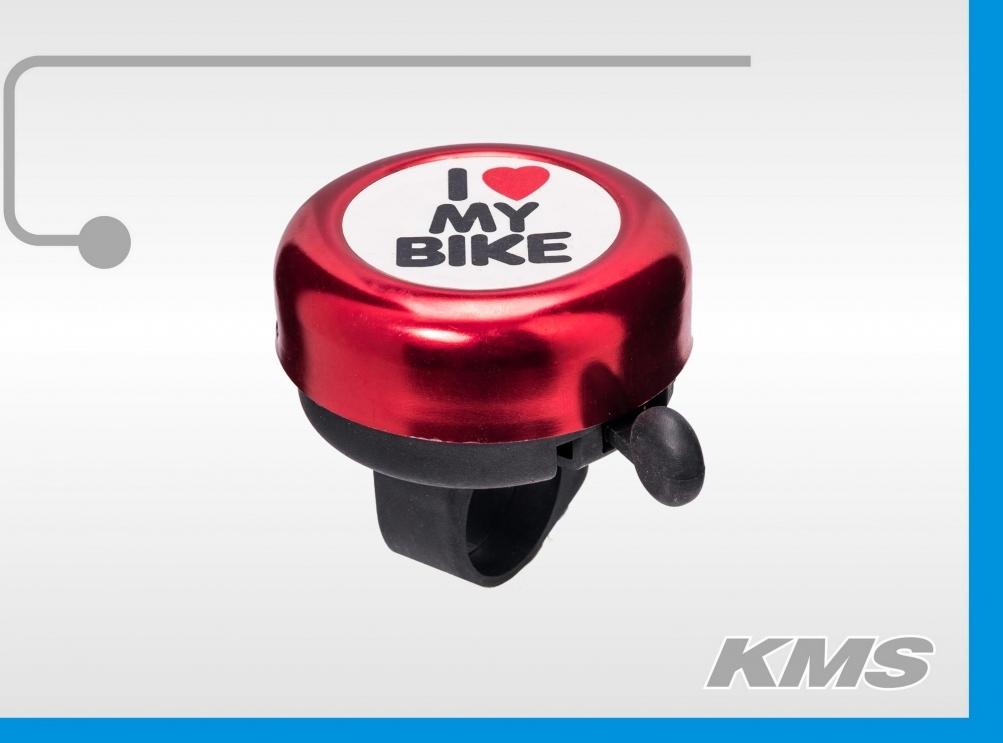 Звонок механический I love my bike 3293035-13, код 8181